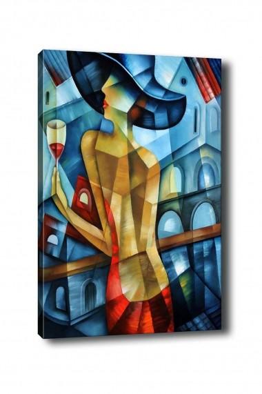 Tablou decorativ din panza Bract 529TCR1293 multicolor