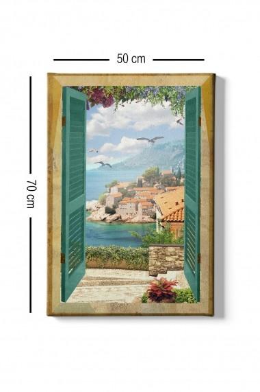 Tablou decorativ din panza Bract 529TCR1330 multicolor