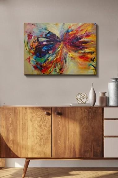 Tablou decorativ din panza Bract 529TCR1369 multicolor