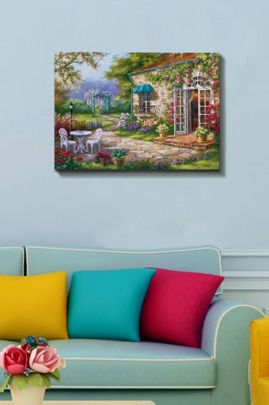 Tablou decorativ din panza Bract 529TCR1387 multicolor