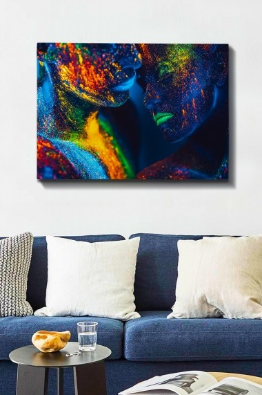 Tablou decorativ din panza Bract 529TCR1542 multicolor