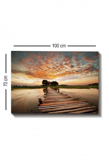 Tablou decorativ din panza Bract 529TCR1583 multicolor