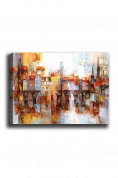 Tablou decorativ din panza Bract 529TCR1585 multicolor