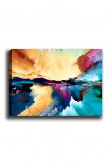 Tablou decorativ din panza Bract 529TCR1399 multicolor