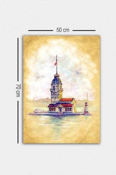 Tablou decorativ din panza Bract 529TCR1605 multicolor