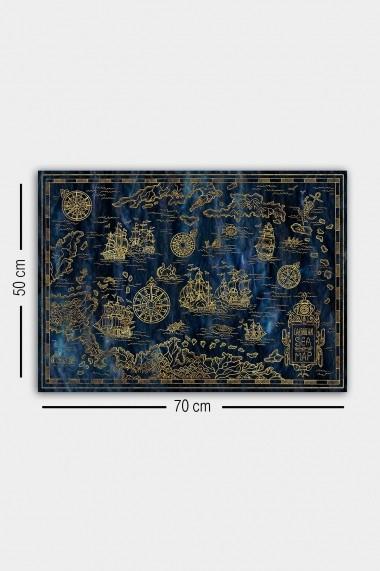 Tablou decorativ din panza Bract 529TCR1606 multicolor