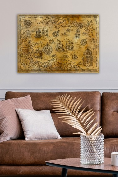 Tablou decorativ din panza Bract 529TCR1607 multicolor