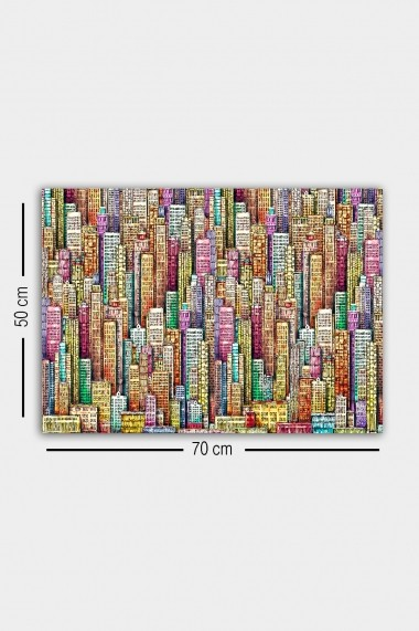 Tablou decorativ din panza Bract 529TCR1622 multicolor