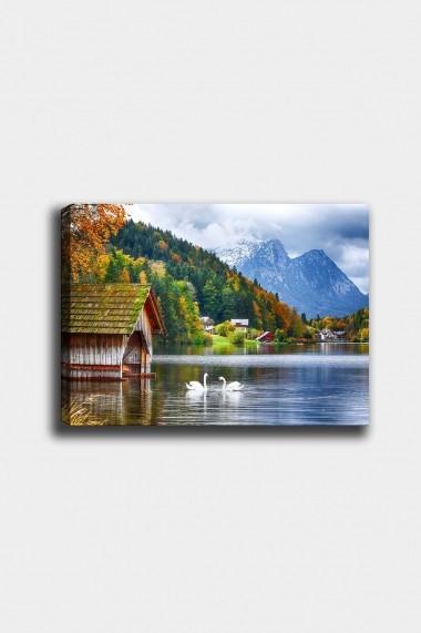 Tablou decorativ din panza Bract 529TCR1625 multicolor
