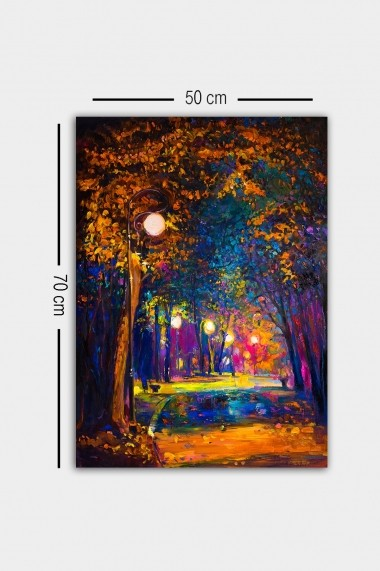 Tablou decorativ din panza Bract 529TCR1628 multicolor
