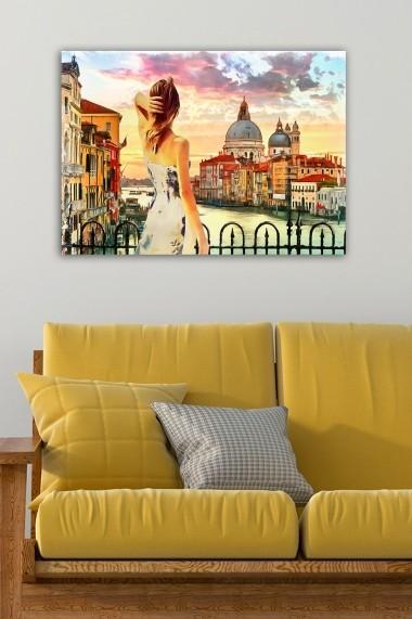 Tablou decorativ din panza Bract 529TCR1635 multicolor