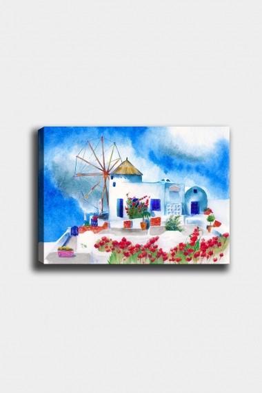 Tablou decorativ din panza Bract 529TCR1640 multicolor