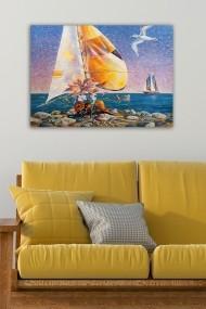 Tablou decorativ din panza Bract 529TCR1644 multicolor