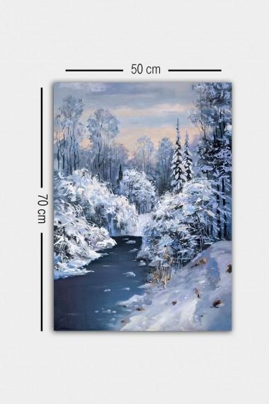 Tablou decorativ din panza Bract 529TCR1649 multicolor