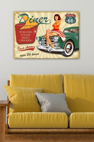 Tablou decorativ din panza Bract 529TCR1662 multicolor