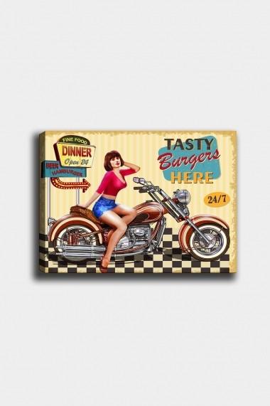 Tablou decorativ din panza Bract 529TCR1663 multicolor