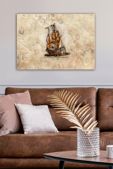 Tablou decorativ din panza Bract 529TCR1670 multicolor