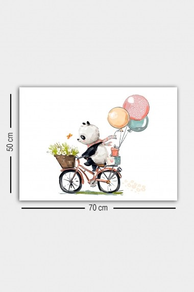 Tablou decorativ din panza Bract 529TCR1678 multicolor