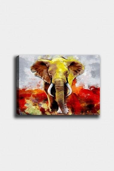 Tablou decorativ din panza Bract 529TCR1703 multicolor