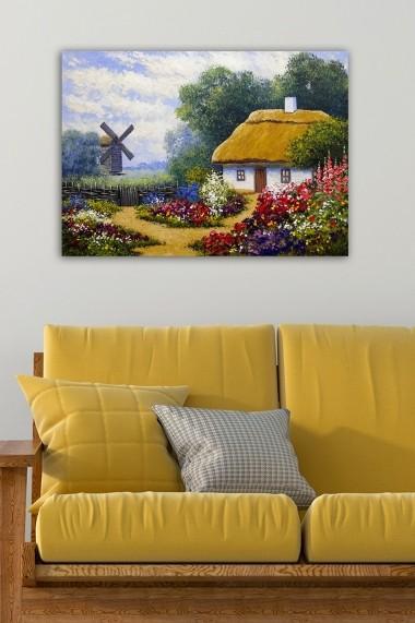 Tablou decorativ din panza Bract 529TCR1711 multicolor