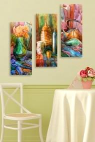 Tablou decorativ (set 3 piese) Marvellous 537MRV5107 multicolor