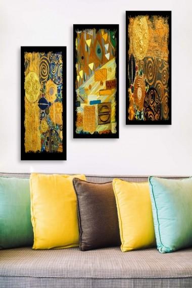 Tablou decorativ (set 3 piese) Marvellous 537MRV5116 multicolor