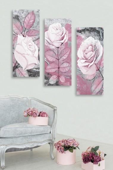 Tablou decorativ (set 3 piese) Marvellous 537MRV5119 multicolor