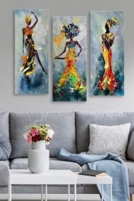 Tablou decorativ (set 3 piese) Marvellous 537MRV5135 multicolor