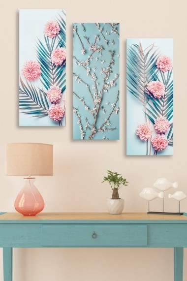 Tablou decorativ (set 3 piese) Marvellous 537MRV5136 multicolor