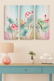 Tablou decorativ (set 3 piese) Marvellous 537MRV5137 multicolor