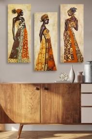 Tablou decorativ (set 3 piese) Marvellous 537MRV5158 multicolor