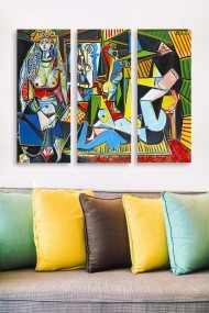 Tablou decorativ (set 3 piese) Marvellous 537MRV5173 multicolor