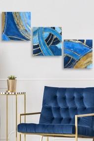 Tablou decorativ (set 3 piese) Marvellous 537MRV5199 multicolor