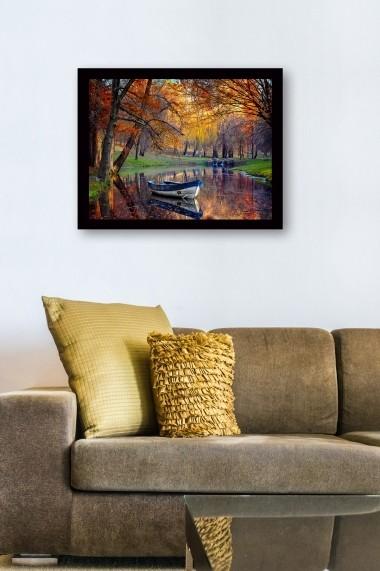 Tablou cu rama din lemn Marvellous 537MRV1002 multicolor