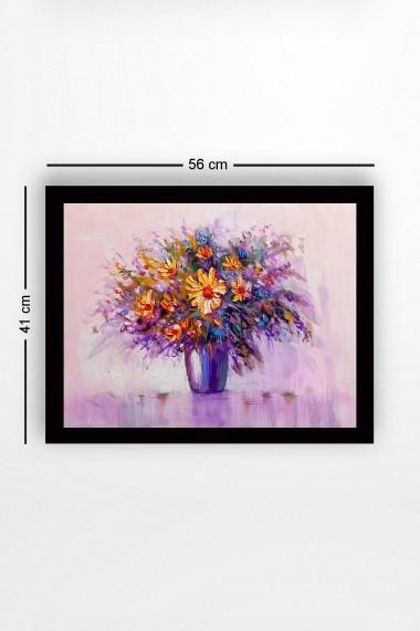 Tablou cu rama din lemn Marvellous 537MRV1139 multicolor