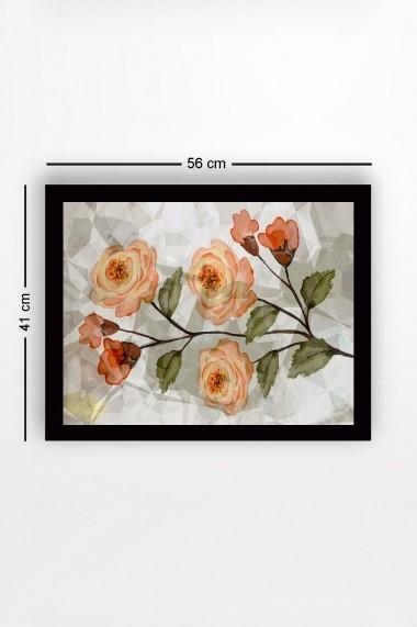 Tablou cu rama din lemn Marvellous 537MRV1188 multicolor