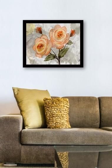 Tablou cu rama din lemn Marvellous 537MRV1190 multicolor