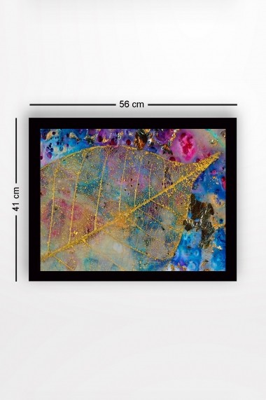 Tablou cu rama din lemn Marvellous 537MRV1240 multicolor