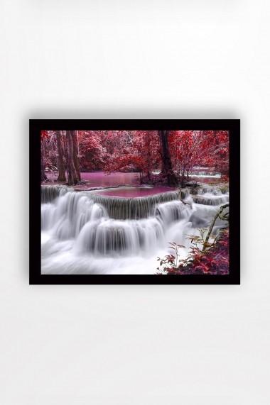 Tablou cu rama din lemn Marvellous 537MRV1292 multicolor