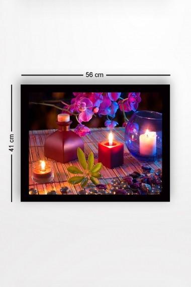 Tablou cu rama din lemn Marvellous 537MRV1295 multicolor
