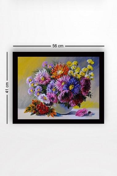 Tablou cu rama din lemn Marvellous 537MRV1533 multicolor