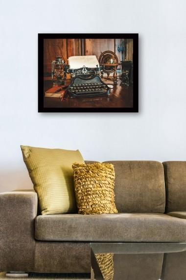Tablou cu rama din lemn Marvellous 537MRV1569 multicolor