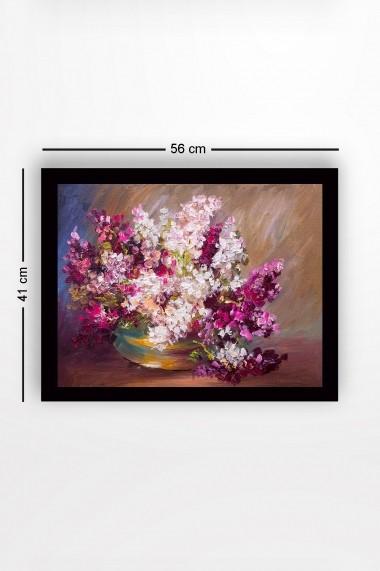 Tablou cu rama din lemn Marvellous 537MRV1674 multicolor