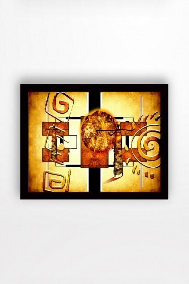 Tablou cu rama din lemn Marvellous 537MRV2195 multicolor