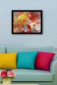 Tablou cu rama din lemn Marvellous 537MRV2245 multicolor