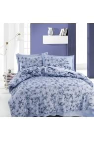 Set lenjerie de pat dublu Marie Claire 153MCL1235 albastru