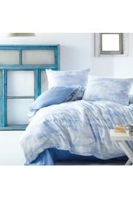 Set lenjerie de pat dublu Marie Claire 153MCL4017 albastru