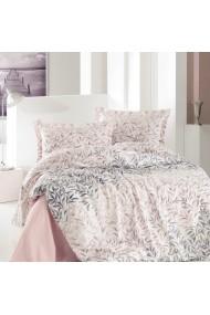 Set lenjerie de pat dublu Marie Claire 153MCL4026 roz