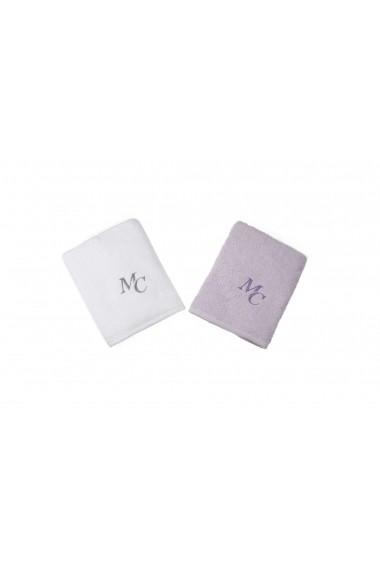 Set 2 prosoape pentru maini Marie Claire ASR-332MCL1211 Lila