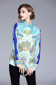 Риза Kaimilan ATL-QH241_Multicolor_els Многоцветен